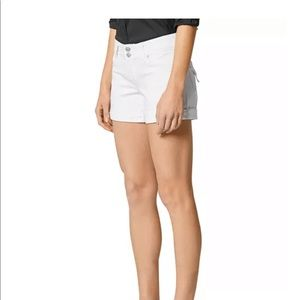 White Hudson Shorts